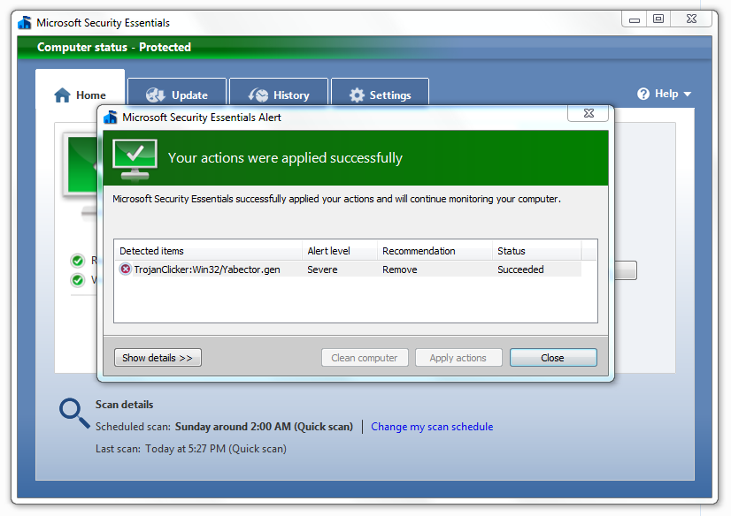 Microsoft security essentials 21 for windows xp 32-bit security essentials uitgebracht microsoft security essentials